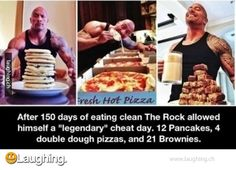 The Rocks cheat day is my every day... hahaha :'( sad lol
