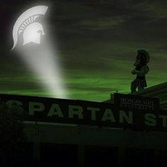 I need a Spartan signal. Michigan Spartans, Michigan State Football, Michigan State University, Msu Football, Baseball, Colleges In Michigan, Best University, Alma Mater, Great Pic