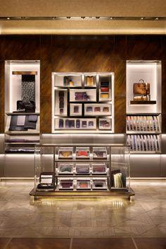 ♂ Commercial space retail store interior design Berluti Osaka 2012 Umeda Hankyu, Osaka, Japan New concept as a lifestyle shop including men's apparel