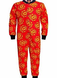 Manchester United F.C. Manchester United FC Official Gift Boys Kids Pyjama Onesie Red 4-5 Years Brand new to our 2014 winter collection, support your favourite football team with this snug black and red boys onesie. Official Manchester United merchandise featuring t (Barcode EAN = 5053223101424) http://www.comparestoreprices.co.uk/boys-clothing/manchester-united-f-c-manchester-united-fc-official-gift-boys-kids-pyjama-onesie-red-4-5-years.asp