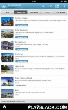 Malaysia Guide By Triposo  Android App - playslack.com , Features of Triposo's guide to Malaysia:★ Suggestions of what's interesting to see and do in Malaysia, depending on time, weather and your location;★ A detailed sights section with all the monuments of Kuala Lumpur, Kota Kinabalu, Georgetown, Malacca;★ Eating out section with the best restaurants in Kuala Lumpur, Kota Kinabalu, Georgetown, Malacca;★ Discover the nightlife of Malaysia! Bars, pubs & disco's in Kuala Lumpur, Kota…