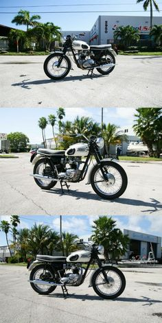 1963 Triumph T120 Bonneville Triumph Motorcycles For Sale, Triumph T120, White Motorcycle, North Miami Beach, United States