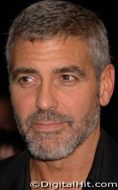2017/18 S/S Trends - Salt & Pepper short  Hair:-George Clooney