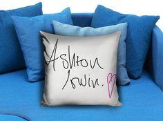 ASHTON 5 seconds of summer Pillow case #pillowcase #pillow #cover #pillowcover #printed #modernpillowcase #decorative #throwpillowcase