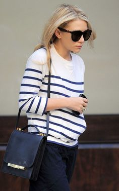 love that row bag and the stripes
