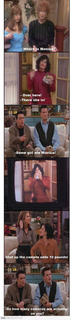 """Some girl ate Monica!"""