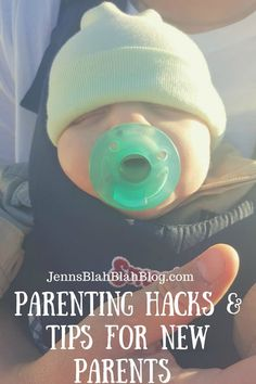 Parenting Hacks & Tips for New Parents http://www.jennsblahblahblog.com/parenting-hacks-tips-for-new-parents/ #ad #luvs @luvs #jbbb