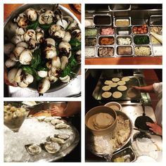 Ready to welcome Beard Award visitors: knob onions grilled, oysters being shucked, Topolo mise en place done, tortillas being made.