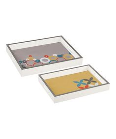 Another great find on #zulily! Mod Tray Set by Midwest-CBK #zulilyfinds