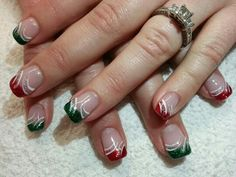 Christmas nails! Nails by Darlene