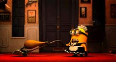 Check out all the awesome minions gifs on WiffleGif. Including all the despicable me gifs, minion gifs, and lol gifs. Amor Minions, Minions Love, My Minion, Minions Quotes, Minion Stuff, Anim Gif, Animiertes Gif, Animated Gif, Narnia