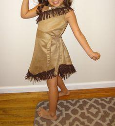 Pocahontas Disney Inspired Princess Costume by JHRsCreations