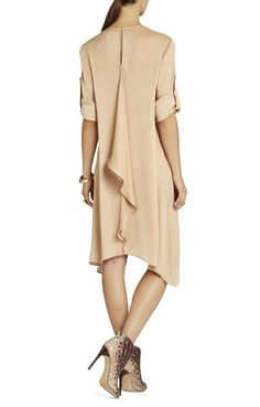 Cynthia Cascade Ruffle Dress | BCBG