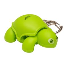 Decorate your keys, bag, backpack, or gear with the entertaining, yet functional Turtle Light keychain.