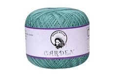 """Garden 10 - $7.50 - Garden Cotton Thread is by Nazli Gelin, which means """"shy bride"""" in Turkish. It is a beautiful 100% mercerized Egyptian Giza cotton thread. Available in 48 solid colors and 10 variegated colors."""