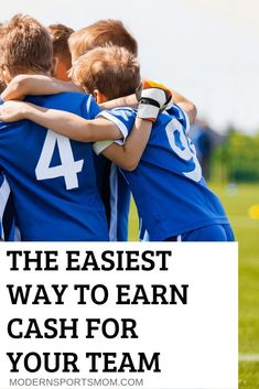 Fundraising Made Easy - Kid's sports are expensive! This is one of the best and easiest ways to earn cash for your team! Team Mom, A Team, Team Bonding, Family Fun Day, Sports Mom, Baseball Mom, Football, How To Raise Money, Charity