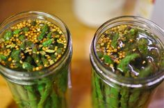 Pickled Asparagus look so pretty! I'm going to try this with my parent's garden's asparagus this summer!