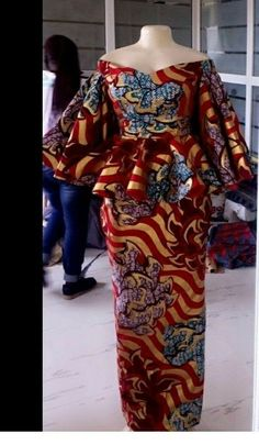 African Maxi Dresses, Latest African Fashion Dresses, African Dresses For Women, African Print Fashion, Africa Fashion, African Attire, Ankara Fashion, African Prints, African Fabric