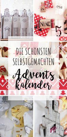 Die schönsten selbstgemachten Adventskalender
