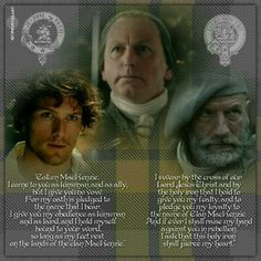 """Quote from Ep 104 """" The Gathering """" // #OutlanderSeries #Outlander #OutlanderFanArt by @OrkneyHeart"""