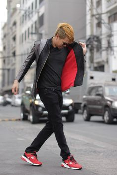 Street Style in Makati. Photography by Shayna Cua #fipmakati Philippine fashion. #pinoystyle menswear