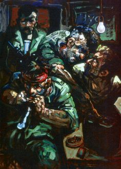 The Bosnia exhibition, Imperial War Museum. A collection of drawings and paintings by the Scottish artist Peter Howson. Peter Howson, World War One, Bosnia, Medium Art, Figurative Art, Art History, Museum, Fantasy, Figure Studies