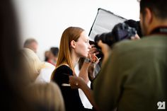 Le 21ème / Backstage at Delpozo, Spring/Summer 2015 | New York City  // #Fashion, #FashionBlog, #FashionBlogger, #Ootd, #OutfitOfTheDay, #StreetStyle, #Style