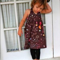 Easy breezy dress pattern for little girls...