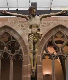 Christus am Kreuz (Veit Stoss um 1505?, GNM) Nuremberg, Germanisches Nationalmuseum - Photographie - Wolfgang Guelcker