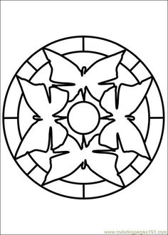 free printable coloring image Mandala 65