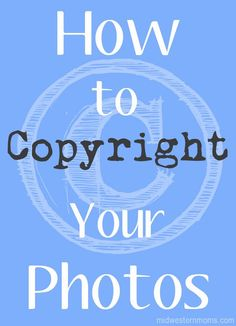 How to Copyright Pho
