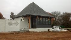 Here are a few pictures of an Arts and Crafts inspired residence under construction in the Nashville area, in a development called Middleton...
