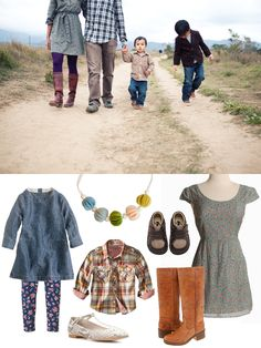 Family photo outfit idea. Roundup for @Rita from Dotcoms for Moms