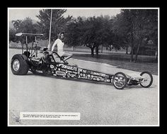 Don Garlits Rear Engine Dragster, 1974 Drag Racing Tree, Funny Car Drag Racing, Nhra Drag Racing, F1 Racing, Funny Cars, Don G, Top Fuel Dragster, Racing Events, Vintage Race Car
