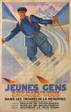 Coulon Jeunes Gens Engagez Vous 78X119 Imp Money | Flickr - Photo Sharing!