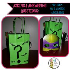 Asking & Answering Questions Mini Lesson