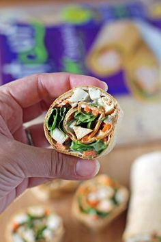 These healthy Buffalo Chicken Pinwheel Wraps are perfect as an afternoon snack or party food and are full of fiber and high in protein to satisfy. Just 152 calories or 4 Weight Watchers SmartPoints for a snack serving! www.emilybites.com