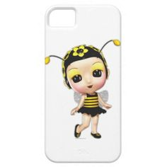 Little Miss Bumblebee iPhone 5 Case by Graphic Allusions $44.95 #iphone5