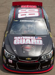 Man of Steel paint scheme. http://www.pinterest.com/jr88rules/dale-jr-2014 #DaleJr2014