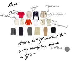 Add details to your Work Wardrobe