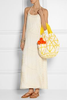 SOPHIE ANDERSON Luz crocheted cotton tote €520.62 http://www.net-a-porter.com/products/516826