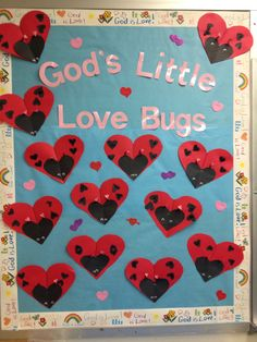 Valentines day bulletin board 2014