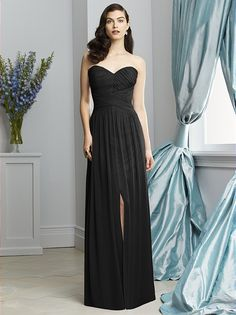 Dessy Collection Style 2931 (shown in black)