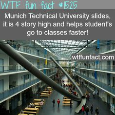 Munich Technical University slides - wtf fun facts