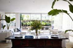 A contemporary upgrade to a Sydney Harbour apartment by Stacey Kouros Design . A limited palett...