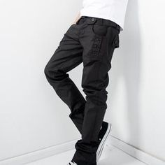 Buy 'Free Shop – Buttoned Straight-Leg Pants' with Free International Shipping at YesStyle.com. Browse and shop for thousands of Asian fashion items from Taiwan and more!