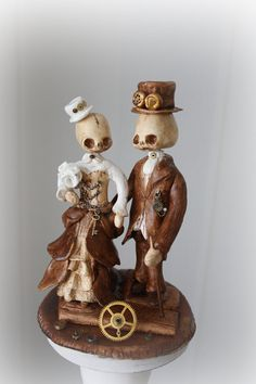 Oh my goddess... wedding cake topper