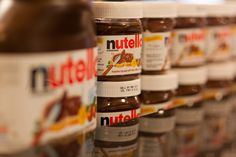 nutella in a row