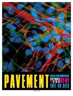 GigPosters.com - Pavement - Thee Oh Sees