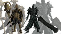 Dark Souls 2: Velstadt and Raime by MenasLG on DeviantArt